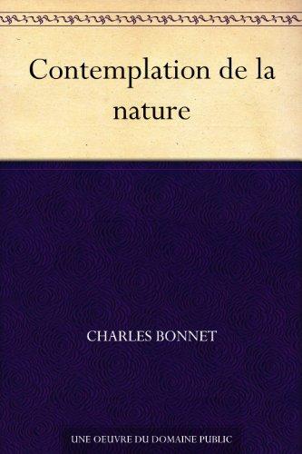 Couverture du livre Contemplation de la nature