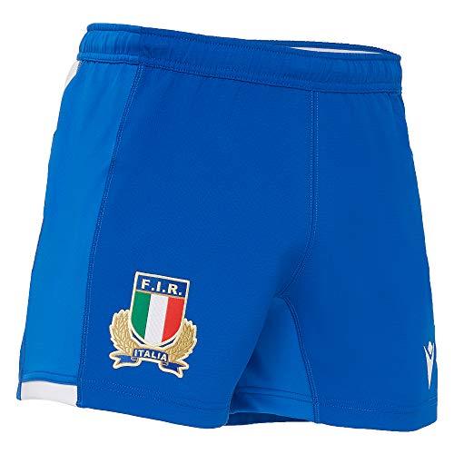 Macron 58122270 FIR M20 Pantaloncini Gara Away Sr, Blu, S