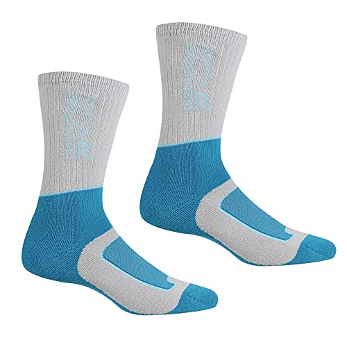 Regatta Samaris Damen Socken für 2 Jahreszeiten, Damen, Socken, RWH046, Briar/LightSteel, M