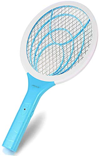 Nobug Bug Zapper Electric Fly Swatter Handheld 3000volt Mosquito Fly Gnat Zapper Racket for Indoor and Outdoor Pest Control