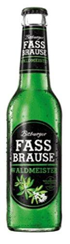 24 Flaschen Bitburger Fassbrause Waldmeister 24 x 0,33L Alkoholfreies Erfrischungsgetränk inclusive 1.96€ MEHRWEG Pfand ohne Rahmen