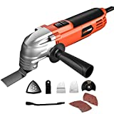 LOMVUM 220W Multi-Oscillating Tool,Oscillating Multi Tool with 6...
