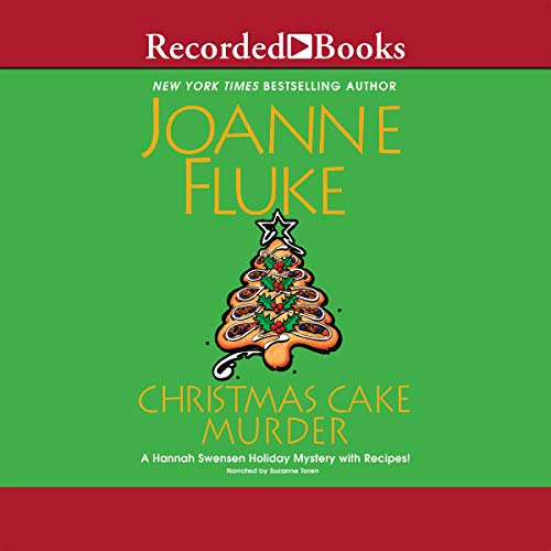 Christmas Cake Murder cover art