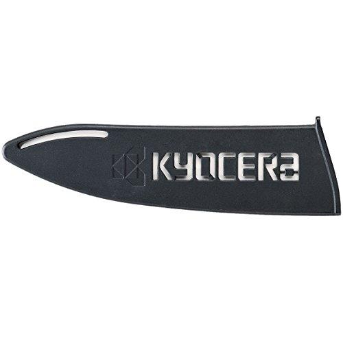 KYOCERA Klingenschutz BG-180 optimaler Messerschutz für Keramikmesser, Keramikklingen. Geeignet für Klingen von 16 - 18 cm Länge. Aus Kunststoff. Schwarz.