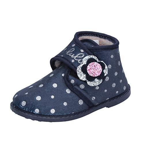 LULU' Sloffen Baby Meisjes Textiel Blauw