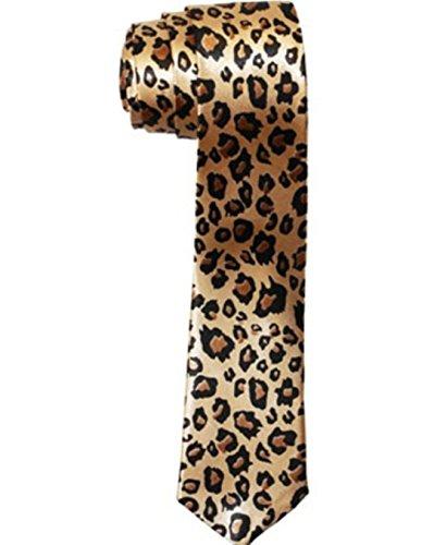Boucle City Men's Skinny nœud Imprimé Animal - Multicolore - Taille unique