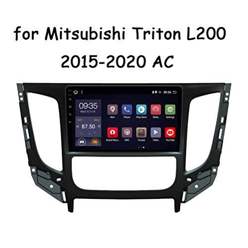 HP CAMP Android 9.0 8 Core Auto Multimedia GPS Radio Stereo Für Mitsubishi Triton L200 2015-2020 AC, Auto Video FM/AM/RDS/Lautsprecher/Mikrofon/Bluetooth 5.0 / SWC/Rückfahrkamera,Canbus,WiFi 4G+64G