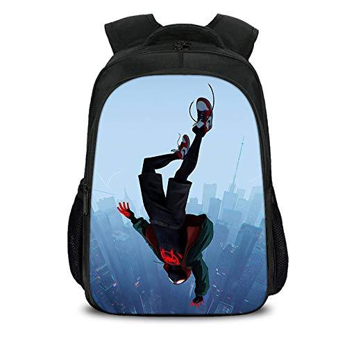 Mochilas Escolares Spiderman Mochilas De Lona Mochilas Escolares Mochilas Escolares para Niños Y Niñas Mochilas De Computadora Portátil De Gran Capacidad