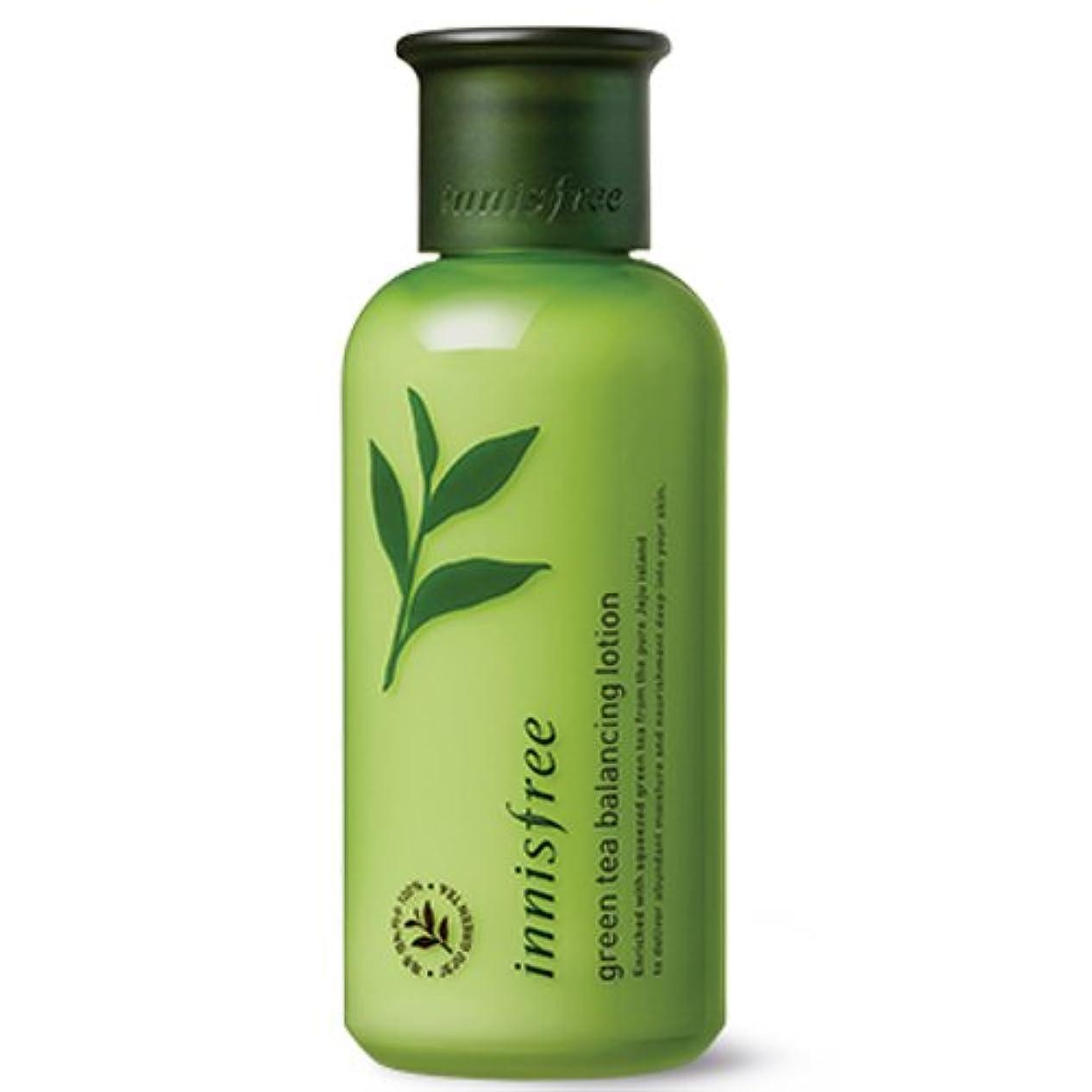 肌寒いアトミック尊厳[INNISFREE]イニスフリーグリーンティーバランシング ローション160ml innisfree green tea balancing lotion 160ml