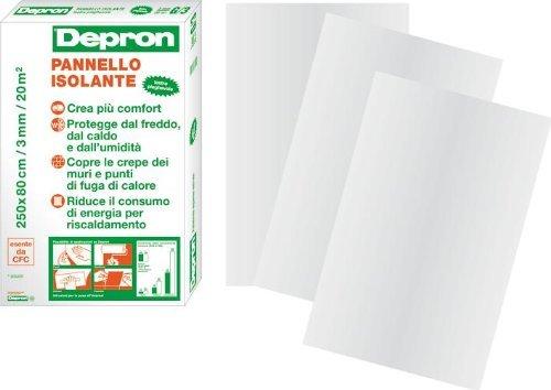 Pannello Isolante Depron 80 x 125 cm spessore 3 mm confezione da 20 pannelli