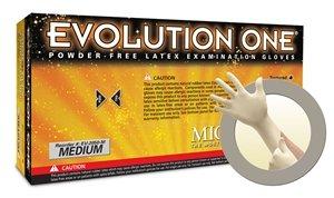 Microflex EV-2050-XL Gloves, Exam, Evolution One, Powder-Free, XL, 10' 6.7 mil, Latex (Pack of 100)