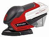 Einhell 4460713 Lijadora Multi TE-OS 18 li, 0 W, 0 V, Rojo, Sin Batería