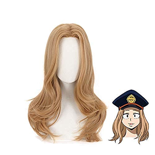 Anime My Hero Academia Camie Utsushimi peluca Cosplay disfraz Boku No Hero Academia mujeres pelucas de pelo sintético resistentes al calor
