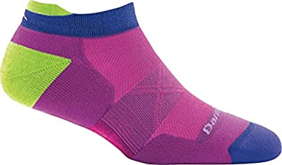 Darn Tough Vertex No Show Tab Ultra-Light Cushion Sock - Women's Clover Medium