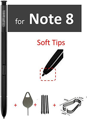 Touch Stylus S Pen Replacement for Samsung Galaxy Note8 Note 8 N950 N950U N950F Touch Stylus S Pen Black with Replace Tips/Nips