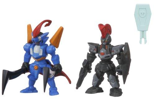 The Little Battlers - LBX Battle Custom Figure Set LBX Perseus & LBX Achilles Deed (Completed Figures Set)