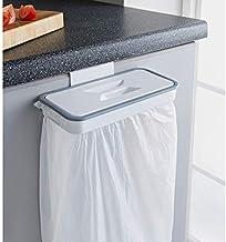 Rexez Hanging Plastic Kitchen Trash Can Bag Holder,Small Kitchen Trash Can For Garbage In Kitchen Portable Waste Holder Trash Bin