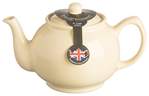 Price & Kensington, 6 Tassen Teekanne, Steingut, pastel gelb pastell