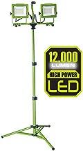 PowerSmith PWL2120TS [New] 12,000 Lumen 5,000K Dual Head LED Work Light with All Metal 68