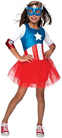 Captain america costume girl _image4