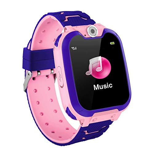 fITtprintse Kids Smart Watch Game Smart Watch per Bambini Girls Boys Touch Screen SOS Regali di Compleanno con Fotocamera Digitale