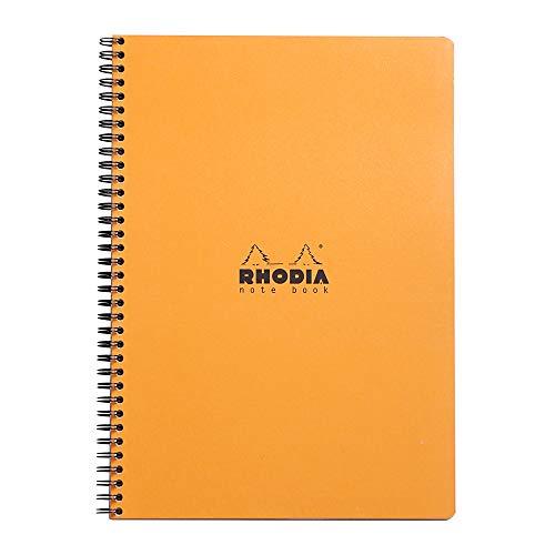 Notebook Classic Ri 22,5x29,7cm 5x5c 160p Detach. 80g Couv. Black