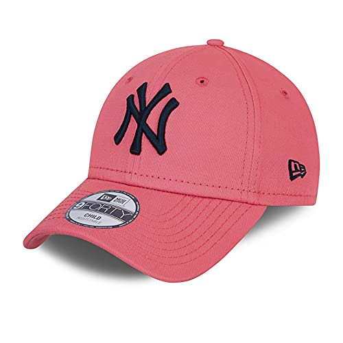 New Era New York Yankees MLB Cap 9Forty verstellbar Basecap Kappe Baseball NY rosa - Child
