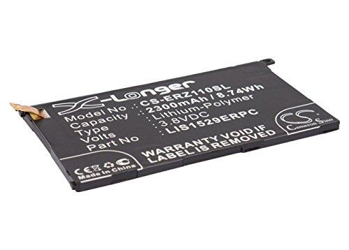CS-ERZ110SL Batería 2300mAh Compatible con [Sony Ericsson] Amami, Amami Maki, D5503, M51w, SO-02F, Xperia Z1 Colorful, Xperia Z1 Compact, Xperia Z1 Compact LTE, Xperia Z1 Mini, Xperia Z1f, Xperia Z1s