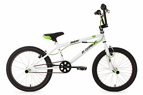 KS Cycling BMX Freestyle 20'' Hedonic weiß