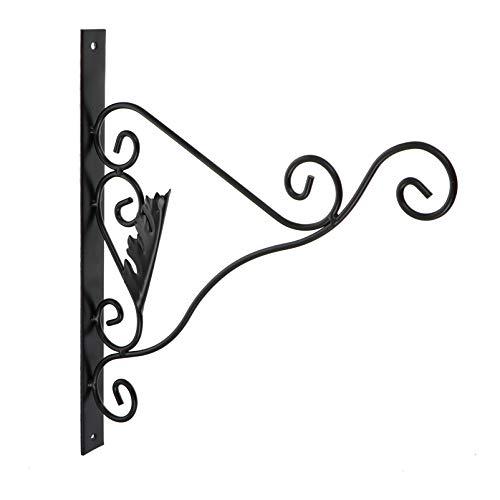 Hemoton Ganchos de Pared de Hierro Rústico Soporte de Planta Colgante Ganchos Decorativos de Metal para Plantas Colgantes Al Aire Libre Comederos para Pájaros
