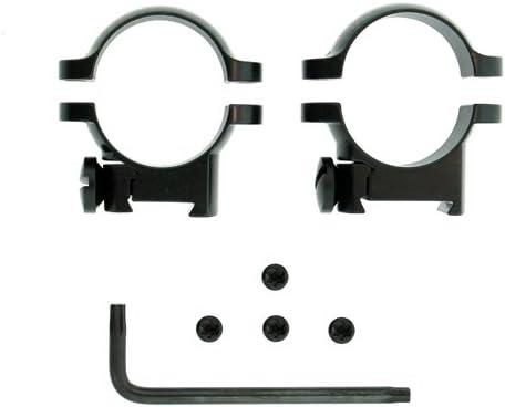 SALENEW very popular! Leupold Sako Ring Mounts 1in Black Low Direct store 49946 - Gloss