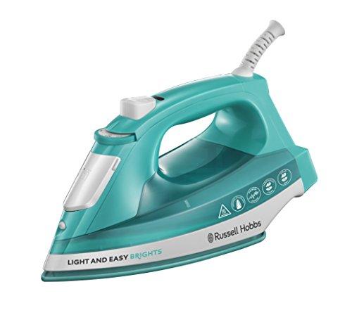 Russell Hobbs 24840-56 Dampfbügeleisen Light & Easy Aqua, 2400 Watt, Keramik-Bügelsohle, automatischer Dampf, aqua