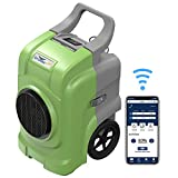 AlorAir Storm Elite Industrial Commercial Dehumidifier, WiFi Smart 125 PPD Dehumidifier with Hose, APP Control, LCD Display, 5 Years Warranty, Cover 3,000 sq. Ft, cETL Listed, Green
