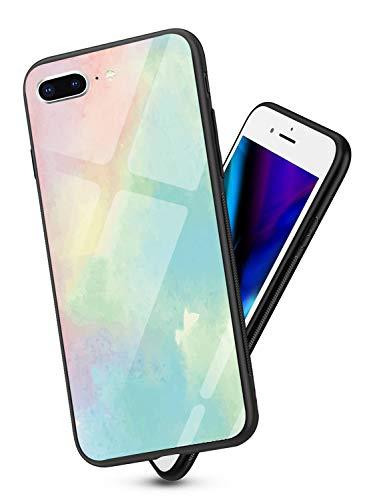 Oihxse Colorido Gradual Cristal Estilo Case Compatible con iPhone 6/iPhone 6s Funda...