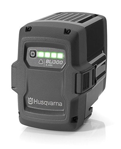 Husqvarna BLi300 Lithium-Ion 9400mAh 36V Wiederaufladbare Batterie - Wiederaufladbare Batterien (9400 mAh, Lithium-Ion (Li-Ion), 36 V, Grau, 1 Stück(e))