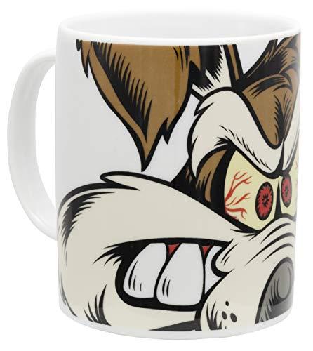 Looney Tunes - Tasse Kaffeebecher mit Coyote Motiv