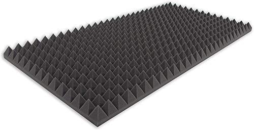 • Dibapur ® B-Lagerware en calidad certificada una vez más hasta un 50% reducido!! • Espuma en pirámide, color antracita y negro. • Espuma acústica. Espuma de 100 x 50 x 5 cm.