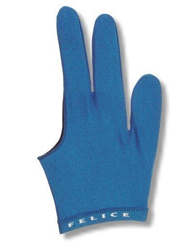 """Billard-Handschuh, FELICE """"BLAU"""", für rechte und linke Hand einer der beliebtesten Profihandschuhe aus den USA"""