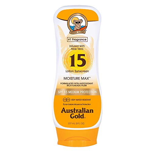 Australian Gold Lotion sans Agent Bronzant SPF 15 237 ml