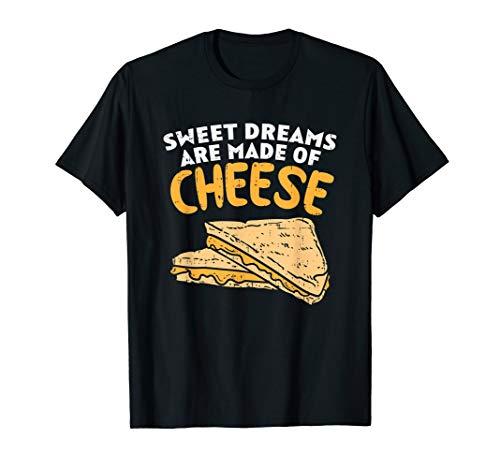 Käse I Cheddar Parmesan Fondue Gouda Käse Toast Motiv T-Shirt
