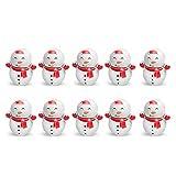 Xingying Mini muñecos de nieve de dibujos animados, juguete de escritorio creativo para el hogar, regalo grande para niños