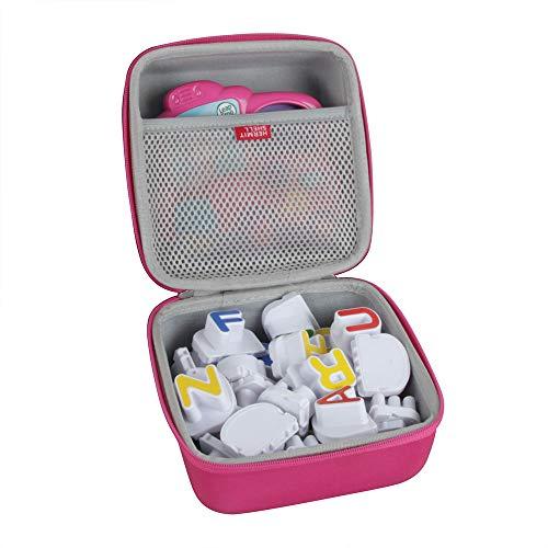 Hermitshell Hard EVA Travel Case for Leapfrog Fridge Phonics Magnetic Letter Set (Pink)
