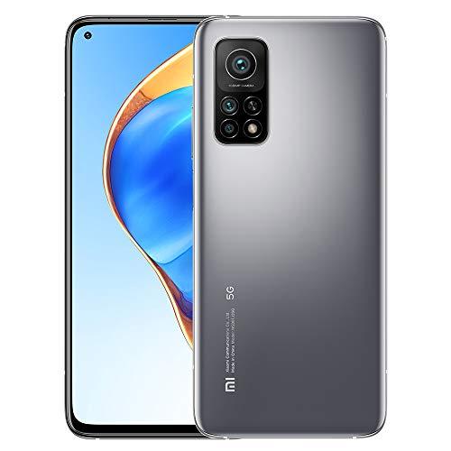 Xiaomi Mi 10T Pro 5G 8GB 256GB Smartphone Qualcomm Snapdragon 865 Octa-Core CPU Cámara Trasera Triple de 108MP 144Hz 6.67' DotDisplay Teléfono Móvil NFC (Silver)