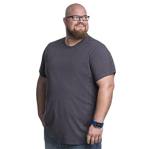 Alca Fashion 5XL Camiseta clásica Cuello Redondo T-Shirt para Hombre, Tallas Extra Grande XL-B - 8XL-B | Alca Classic Tshirt Crew Neck tee (Cintura 146 a 153 cm)