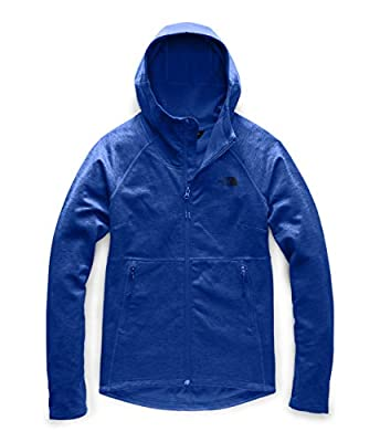 The North Face Women's Canyonlands Hoodie, TNF Blue Heather, Large
