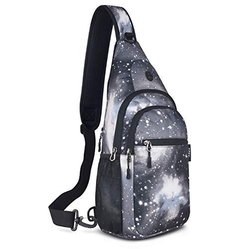 ZZSY Sling Backpack, Shoulder Chest Crossbody Bag Small Daypack for Outdoor Hiking Men & Women