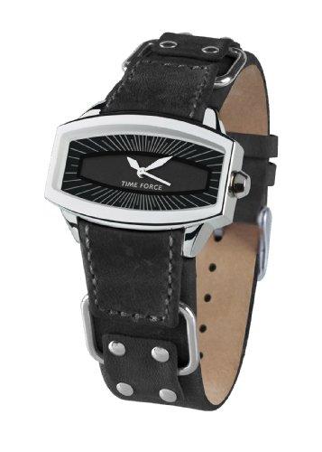 Time Force Reloj con Correa de Piel TF2996L01