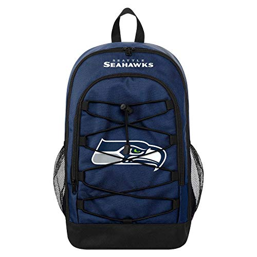 Forever Collectibles FOCO Seattle Seahawks Bungee NFL Rucksack Navy