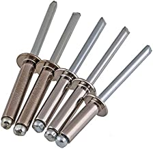 Standard Open Dome Head A2 304 Stainless Steel Blind POP Rivets 3.2mm, 4.0mm, 5mm
