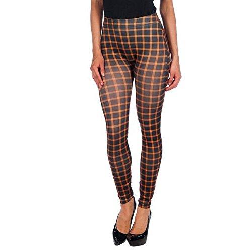 Intimax corsets lencería y moda T2207 Leggings, Marrón (Marron), One Size (Tamaño del Fabricante:S/M) para Mujer